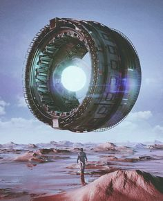 Futuristic and Retro Worlds by Mike Winkelmann