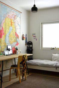 Viidesluokkalaisen pojan huone