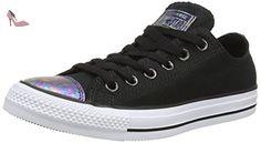 Converse Chuck Taylor All Star, Baskets Basses Femme, Noir (Black/Egret/Black), 37 EU - Chaussures converse (*Partner-Link)