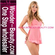 Pink lady lingerie transparent sexy babydoll W265513A Best Seller follow this link http://shopingayo.space
