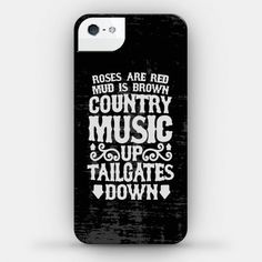 country music...black phone case