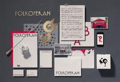 Folkoperan – neue visuelle Identität