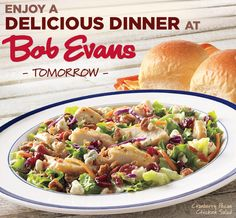 BOB EVANS $$ Coupon for $3/$10 Purchase – TODAY ONLY (9/1)!