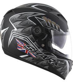 Shark S700S Foggy Replica Shark Motorcycle Helmets, Shark Helmets, Motorcycle Outfit, Motorcycles, Black, Hard Hats, Motorcycle Suit, Black People, Motorbikes