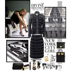"""Manhattan Princess - Designer Obsession"" by jacque-reid on Polyvore"