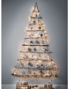 Artificial Pre Lit Christmas Trees, Decorative Luxury Frosted Light Up Trees