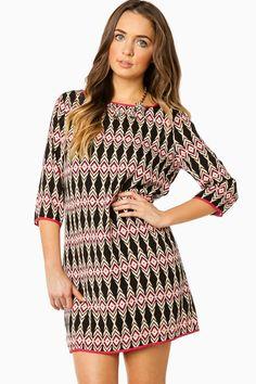 Tabita Shift Dress / ShopSosie #shopsosie #sosie