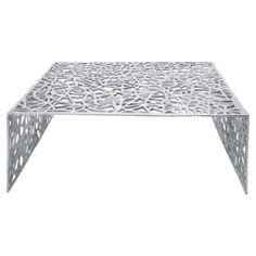 Gossamer Aluminium Coffee Table - Casafina