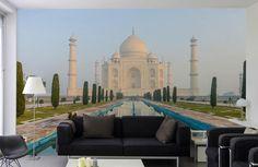 Monument emblématique de l'Inde, le Taj Mahal.