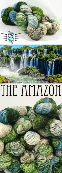 Our first yarn shipment from Destination Lane-the Yarn & Bag trip around the world! Love this yarn? Sign-up for our waitlist at the link!