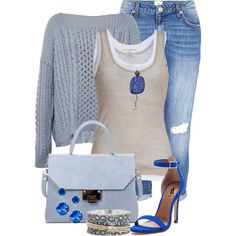 """Cloudy"" by tinayar on Polyvore"