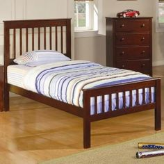 Parker mission style twin bed CO-400290T