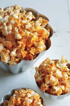 Buffalo Ranch Popcorn --  These long dark nights mean we're staying in to watch our favorite TV shows and movies, not to mention the upcoming awards ceremonies and Super Bowl, and munching on freshly popped popcorn is a quick way to make the whole experience feel complete.