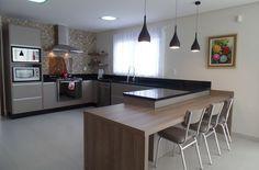 Bancada de cozinha granito preto são gabriel