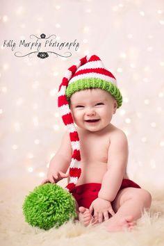 Christmas Knit Santa Little helper Elf by designbycboutique, $29.99