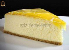 Cottage Yogurt Cheesecake – My Delicious Food - Dessert Lemon Cheesecake Recipes, Lemon Desserts, Pumpkin Cheesecake, No Bake Desserts, Turtle Cheesecake, Cheesecake Bites, Strawberry Cheesecake, Chocolate Cheesecake, Sheet Cake Recipes