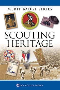 Add excitement and interest to the sometimes snooze-worthy Scouting Heritage merit badge. Scout Mom, Girl Scout Swap, Girl Scout Leader, Cub Scouts, Cub Scout Patches, Boy Scouts Merit Badges, Scout Books, Girl Scout Crafts, Brownie Girl Scouts