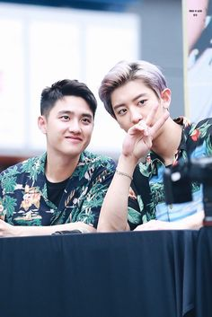 D.O and Chanyeol EXO