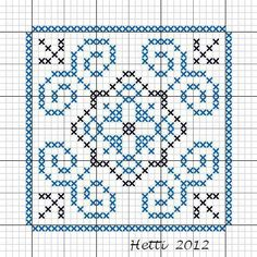 Creative Workshops from Hetti: SAL Delfts Blauwe Tegels, Update - SAL Delft Blue Tiles, Update.