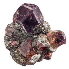 Garnet crystal