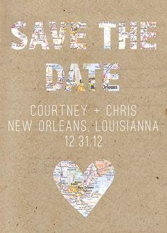Destination Save the Date. $40.00, via Etsy.
