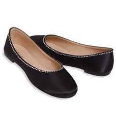 88658e973610d5 ESNY Totes Isotoner Satin Ballerina Bridal Shoes w  Rhinestones Synthetic  Fabric