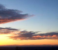 Beautiful sunset in California!!
