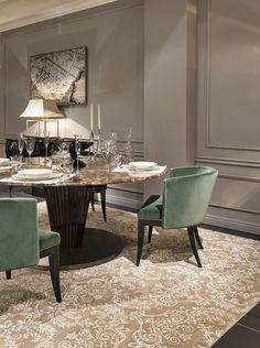 modern dining room   www.bocadolobo.com #bocadolobo #luxuryfurniture #exclusivedesign #interiodesign #designideas  #diningtable #luxuryfurniture #diningroom #interiordesign #table #moderndiningtable #diningtableideas