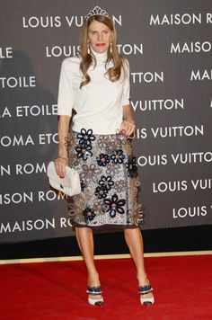 Anna dello Russo Photo - Maison Louis Vuitton Roma Etoile Opening Party - Red Carpet