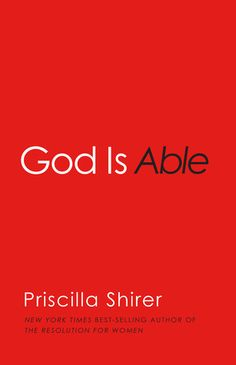 God is Able!  Great book!  I just finished it!