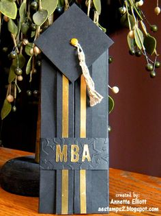 AEstamps a Latte...: Graduation Money Card Holder