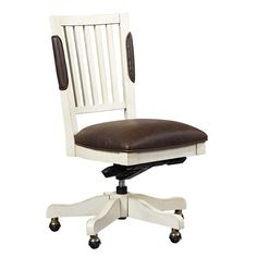 Armless Bonded Leather Chair | National Business Furniture