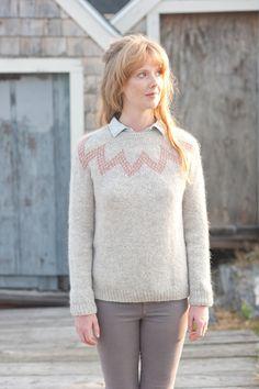 willard fair isle pullover