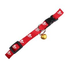 Anboo cat Products Nylon Safe Cat Adjustable Breakaway Collar With Bells * Trust me, this is great! Click the image. (This is an amazon affiliate link. I may earn commission from it)