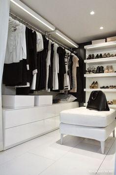 Popular begehbarer Kleiderschrank furniture Pinterest Zuhause Minimalhaus und Malm