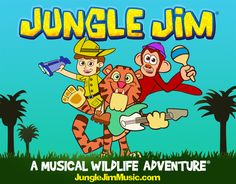 Jungle Jim – A Musical Wildlife Adventure. #AD