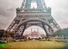 Color photographs of France in the early 20th century