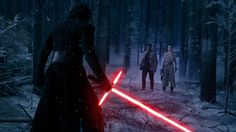 Download Kylo Ren vs Rey and Finn Star Wars the Force Awakens 5120x2880