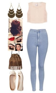 """""""Untitled #167"""" by rhay-q ❤ liked on Polyvore featuring Charlotte Russe, Topshop, Razan Alazzouni, Aéropostale and Ecologica"""