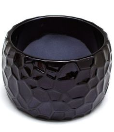 Chunky black bangle $9.99