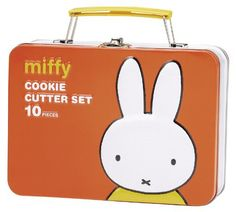 Miffy+and+Friends+Cookies+Cutters+-+Suitcase+Set