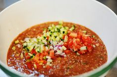 Gazpacho by Ree Drummond / The Pioneer Woman, via Flickr