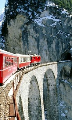 Glacier Express ♦ Switzerland