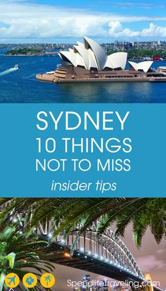 Sydney, Australia: 10 Things Not to Miss - Insider Tips
