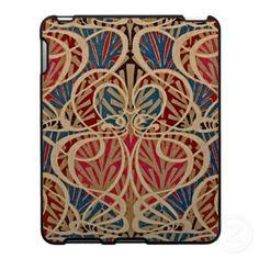 Art Nouveau Pattern #10 at Emporio Moffa iPad Cover