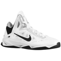 Nike Zoom Hyperchaos - Women's - Basketball - Shoes - White/Black/Metallic Silver who knew I would find these haha