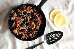 Pastry Affair | Blueberry Lemon Crumble