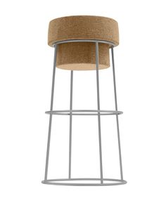 If this is not the ultimate Wino stool, I don't know what is. Domitalia Bouchon Counter Stool, Satinated Aluminum at MYHABIT