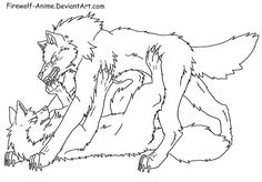 Decided to upload this as a line art. Wolf Pin Line Art Anime Wolf Drawing, Fox Drawing, Drawing Base, Drawing Sketches, Art Drawings, Easy Animal Drawings, Pencil Drawings Of Animals, Animal Sketches, Wolf Base