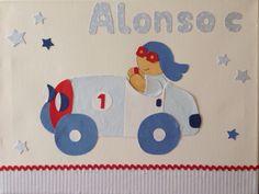 Cuadro para Alonso en coche Table Alonso Drive